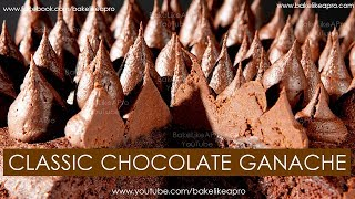 Classic Chocolate Ganache Recipe - It