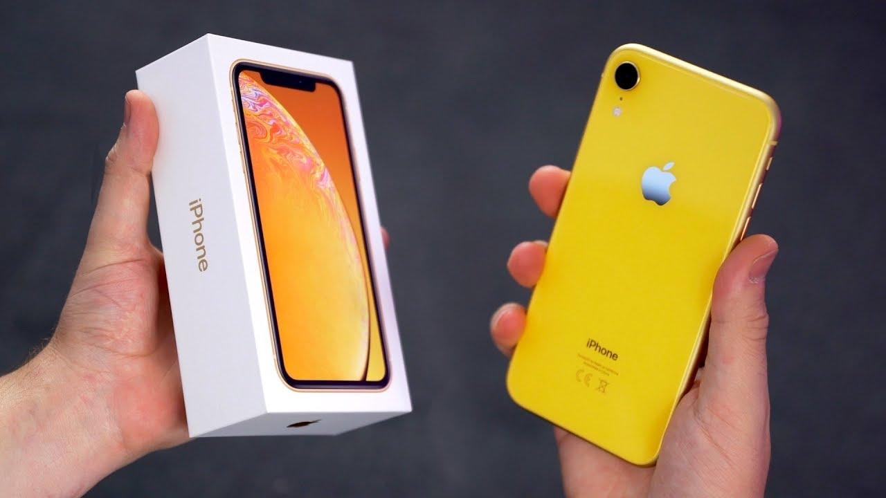 Iphone Xr Unboxing Wie Schlimm Ist Das Display Felixba Youtube