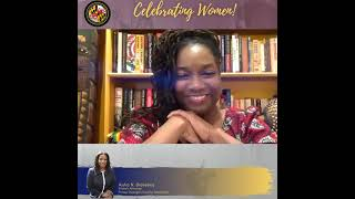 Celebrating Women State's Attorney Aisha Braveboy chats with NKechi Taifa