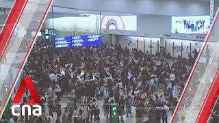 Thousands of passengers affected by disruption at Hong Kong airport