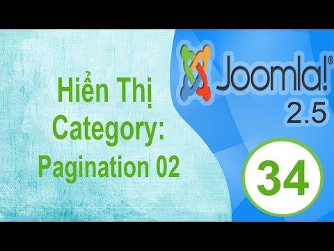 Lập Trình Joomla - Bài 34: Hiển Thị Category: Pagination 02