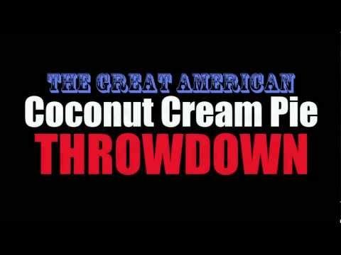 The Great American Coconut Cream Pie Throwdown - Just Eat! w/ Chef Joshua Alan Burgin-Eaton - Teaser