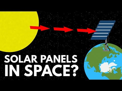 Thumbnail: Why Don't We Just Put Solar Panels In Space?