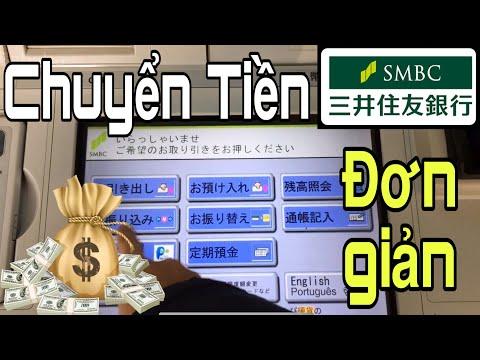 Cách Chuyển Tiền Bằng Thẻ Ngân Hàng SMBC 三井住友銀行 Chi Tiết Và đơn Giản