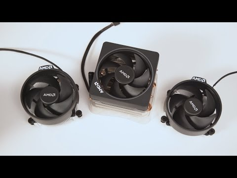 Ryzen Stock Heatsinks (Wraith) as Fast As Possible