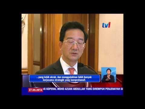 27 Mei - CURTAIN RAISER  LAWATAN PM KE CHINA