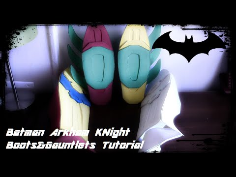 Batman Arkham Knight Batsuit Tutorial Gauntlets and Shins