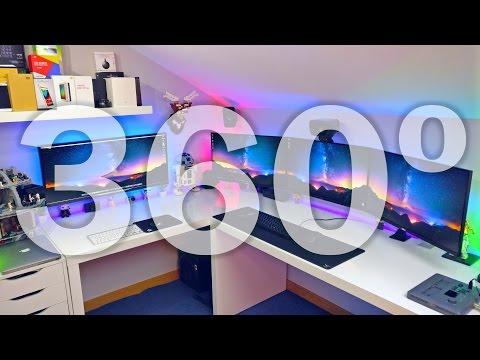 Melhor Quarto Gaming | Setup Tour em 360º!