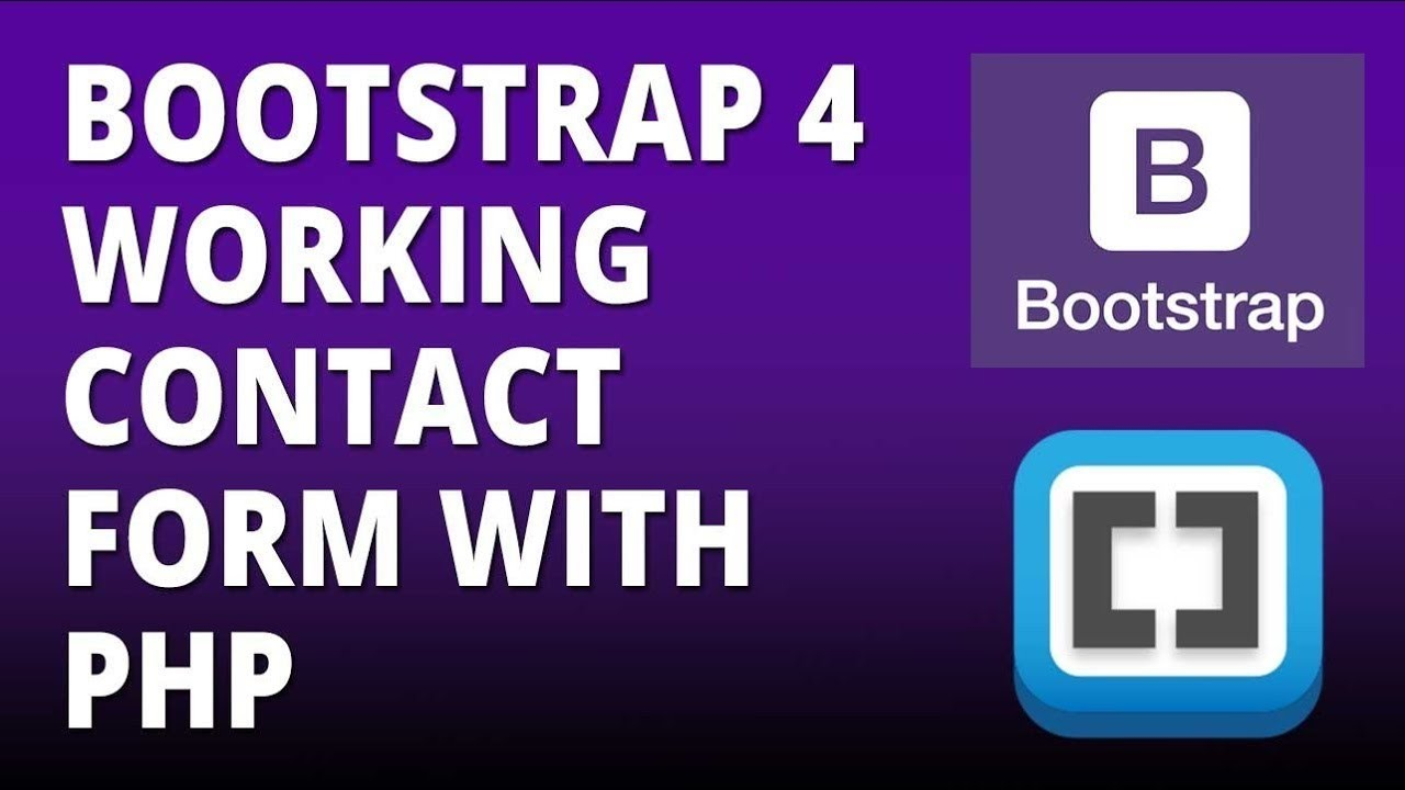 Creating the Contact Page - Bootstrap Tutorial - YouTube