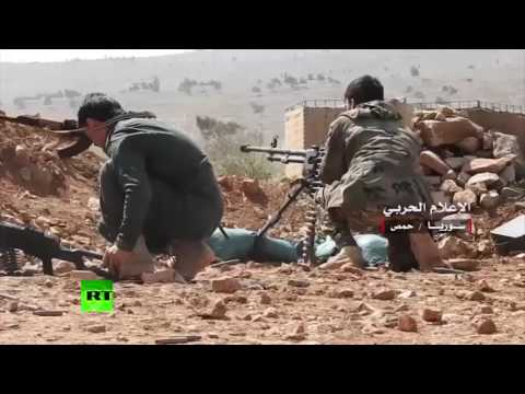 RAW: Syrian government forces capture territory in Homs province