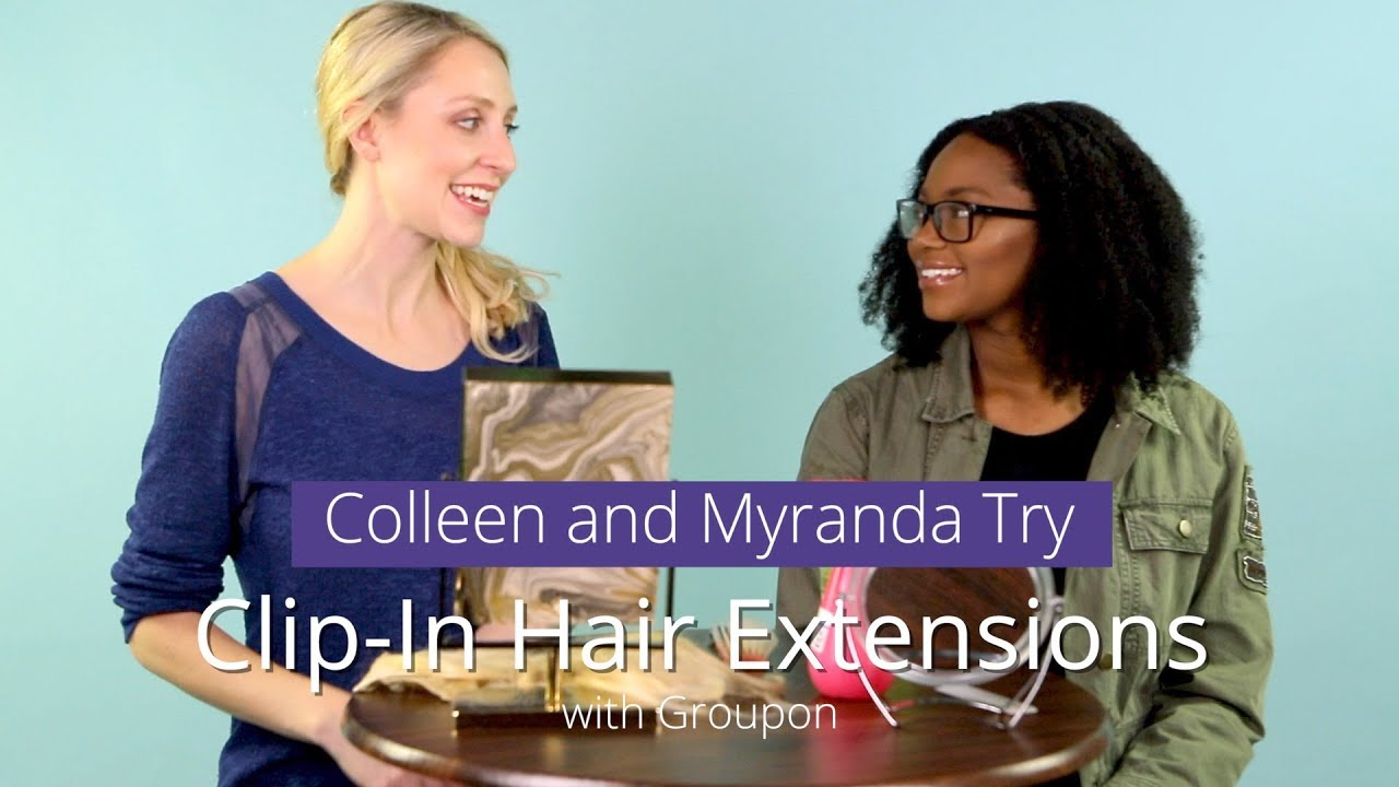 Clip In Hair Extensions For All Types Of Hair Youtube