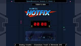 GDQ Hotfix Presents: SpeedRunsLive Season 2 Week 4: Chameleon Twist - Beat All Levels