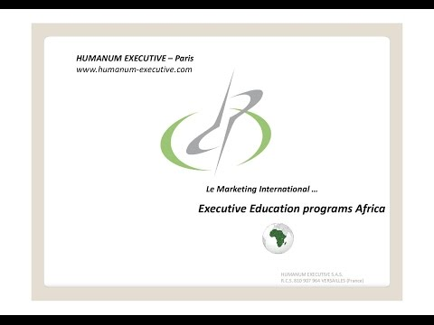 Le Marketing International - Executive Education programs Africa by Humanum Executive S.A.S.
