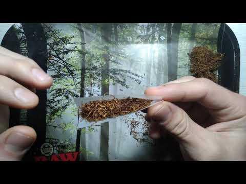 Как скрутить самокрутку без машинки / Hand-rolled cigarette