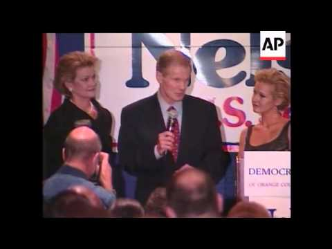 U.S. Sen. Bill Nelson easily won re-election to a second term Tuesday over Republican challenger Kat