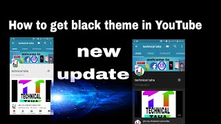 How to get black theme in YouTube without any application new update for YouTube tricks and tips