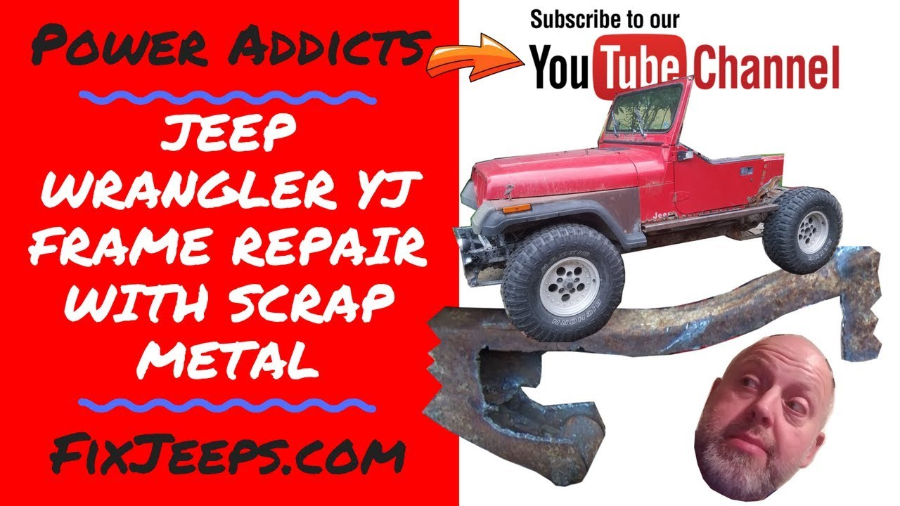 Download Jeep Wrangler YJ - How to repair a rusty frame with scrap metal. #jeepframerepair