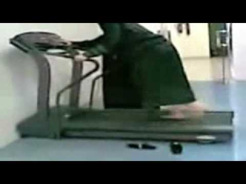 Funny Arabs Collection Arabian Woman On Treadmill