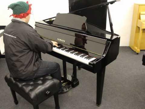Yamaha Gran Touch Gt2 Baby Grand Piano Youtube