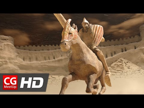 """CGI Animated Short Film """"Making of Sand Castle (Chateau de Sable)"""" by ESMA 