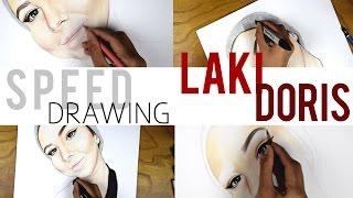 Speed drawing, Lakidoris   Malin arts
