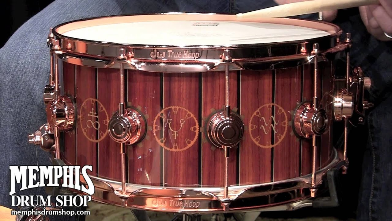 dw 14x6 5 collector 39 s series icon time machine snare drum youtube. Black Bedroom Furniture Sets. Home Design Ideas
