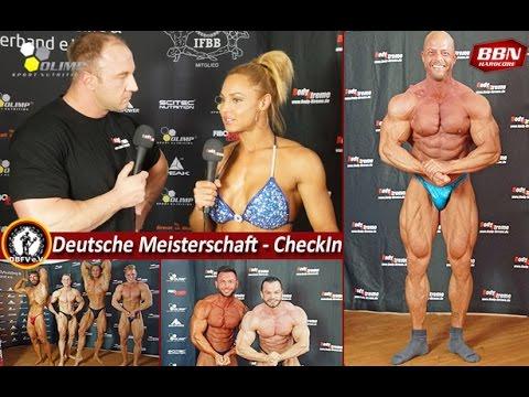 Deutsche Meisterschaft 2017 - Checkin Interviews