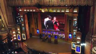 Commercial break at the Tony Awards.