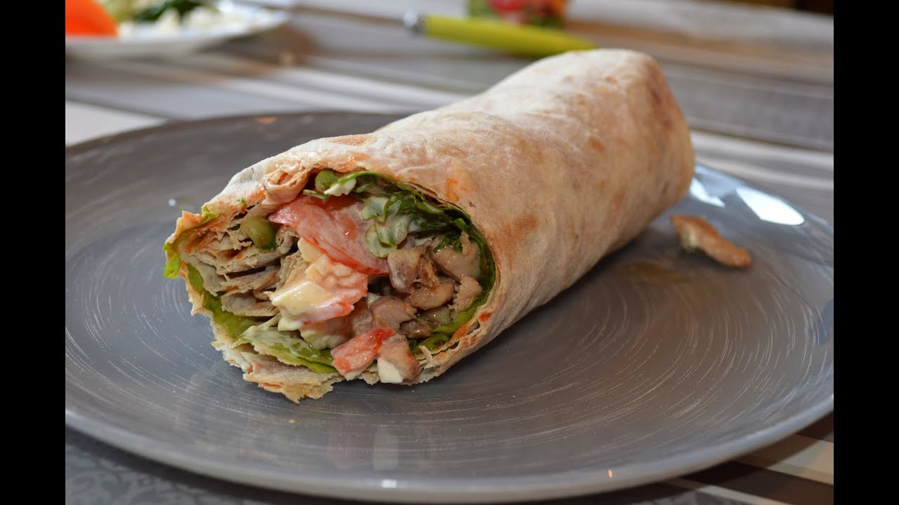 My Shawarma-LIKE Wrap - YouTube
