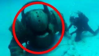 8 Funde unter Wasser - die nicht erklärt werden können!