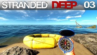 🌴 Stranded Deep #03 | Orientierung mit Kompass | Gameplay German Deutsch thumbnail