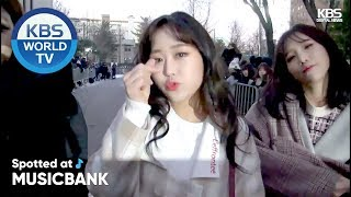 [Spotted at Music Bank] 뮤직뱅크 출근길 - 14U, Hwang in-sun, Day6, Ben,  lovelyz, etc [2018.12.14]