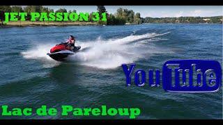 Lac de Pareloup découverte en jetski