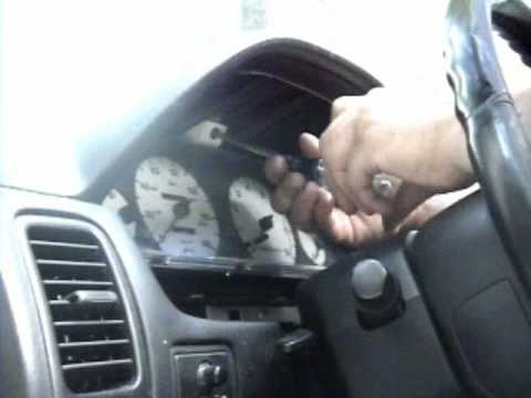 1995-1999 Nissan Maxima Gauge cluster replacement - YouTube