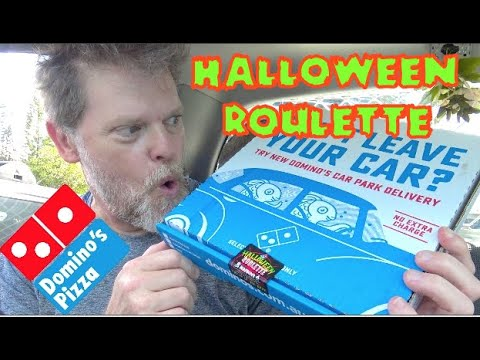 How Hot Is The Halloween Roulette Pizza From Dominos?