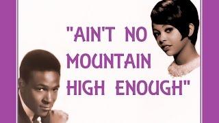 Ain't No Mountain High Enough (Lyrics) 💖 MARVIN GAYE 💖 TAMMI TERRELL