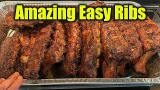 Easy Smoked Ribs