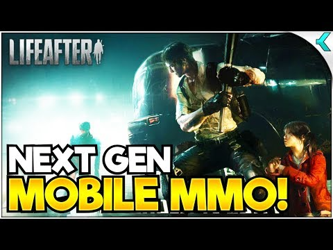 LIFEAFTER | Next Gen Zombie Mobile MMO!! FIRST IMPRESSIONS!
