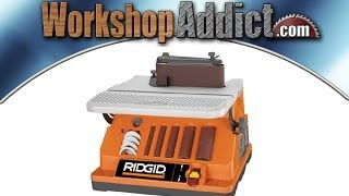 Ridgid Oscillating Edge Belt/spindle Sander Review