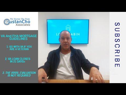 va-and-fha-streamline-refinance-mortgage-guidelines