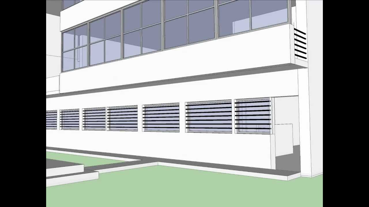 Villa Stein - Sketchup Model - YouTube