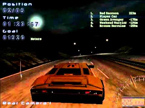 Midnight Racing [PC] gameplay