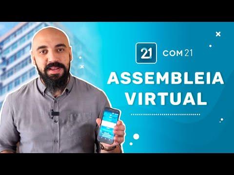 ASSEMBLEIA VIRTUAL é no SUPER APP COM21