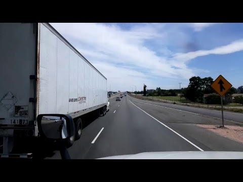 BigRigTravels LIVE!  Sacramento to Lathrop,  California - Interstate 5 - May 5th, 2017