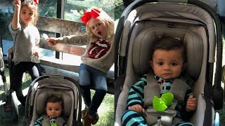 Everleigh Soutas and Ava Foley babysit baby Jayden for the first time!! I Foreverandforava