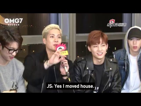 [ENG SUB] 151210 HK Sina Interview GOT7