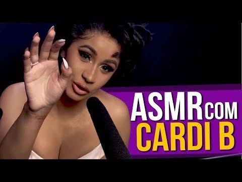 ASMR com a Cardi B Paródia