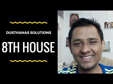 Solutions to Planets in Dusthanas (8th House) - OMG Astrology Secrets 62