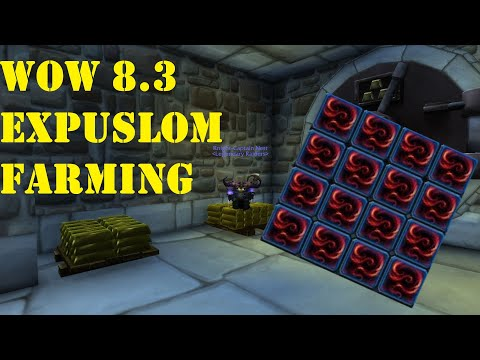 How To Get TONS Of Expulsom - World Of Warcraft 8.3 - EXPULSOM CRAFTING -