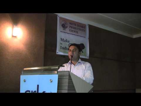 Director General Foreign Trade Surat Mr. Sambhaji Chavan keynote speaker